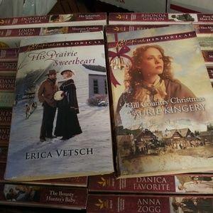 25 Historical Love Inspired paperback
